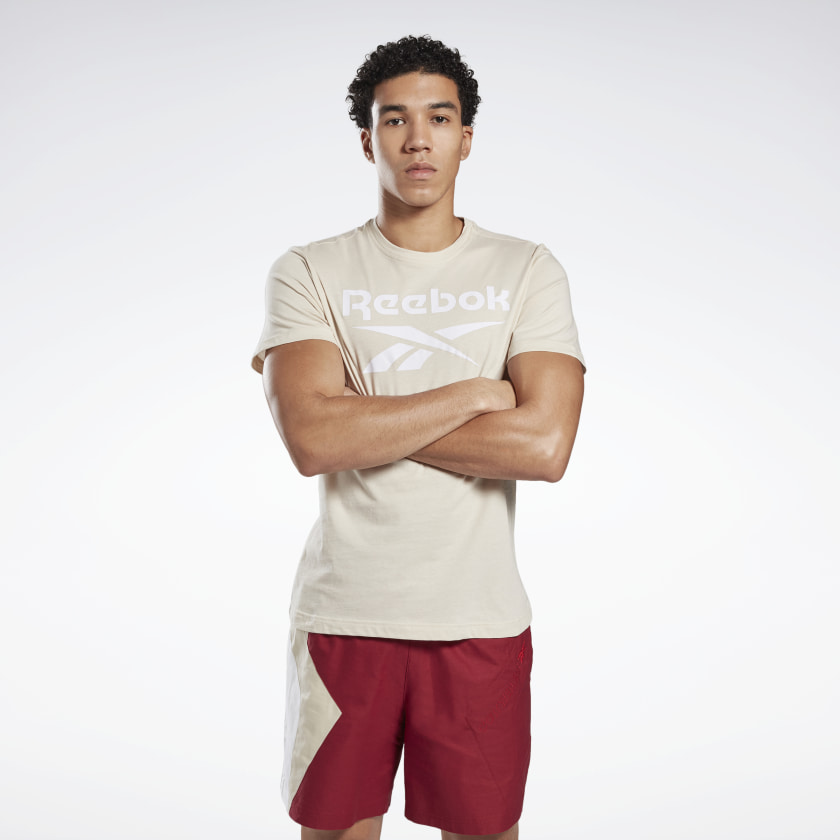 Reebok-Men-039-s-Graphic-Series-Stacked-Tee thumbnail 45