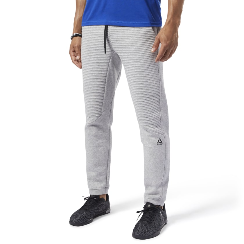 Reebok Men Training Workout Ready Fleece Pants