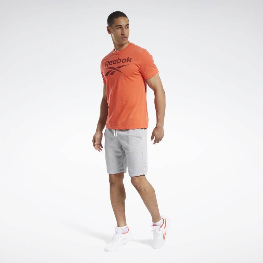 Reebok-Men-039-s-Graphic-Series-Stacked-Tee thumbnail 17