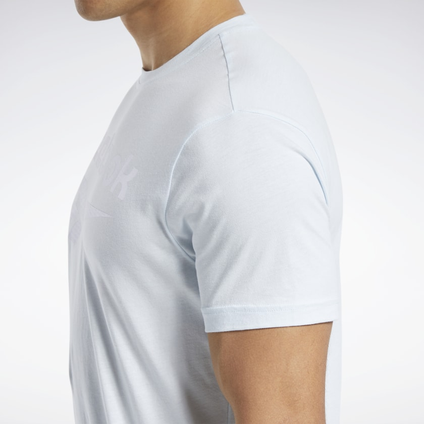 Reebok-Men-039-s-Graphic-Series-Stacked-Tee thumbnail 36