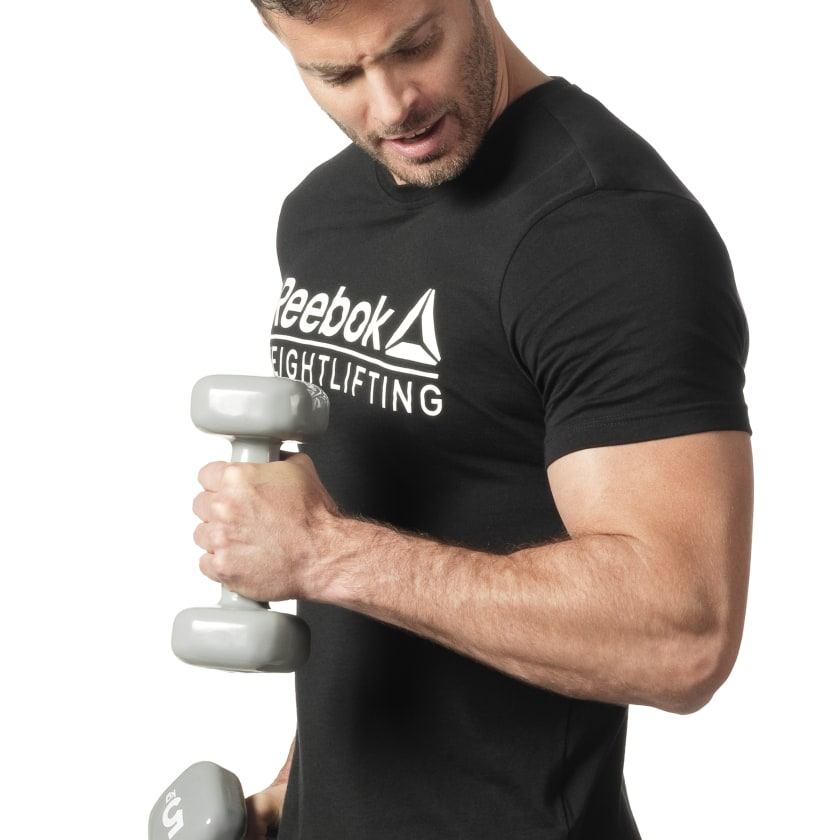 Reebok-Men-039-s-Weightlifting-Tee thumbnail 28