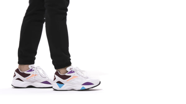 Reebok Aztrek 96 Shoes WhitePorcelain for Women. SNEAKERS