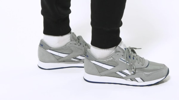 Reebok Classic Nylon Men's Shoes - Grey