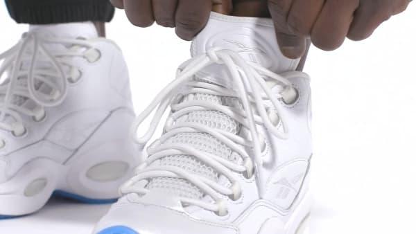 Repegar franja me quejo  Reebok Question Mid Men's Basketball Shoes - White   Reebok Canada
