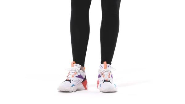 151f12c043 Reebok Aztrek Double Nu Pops Shoes - White | Reebok MLT