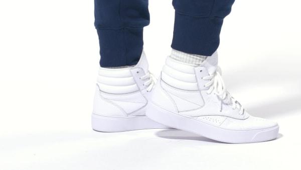 Reebok Freestyle Hi Nova - White  7e299a4a1