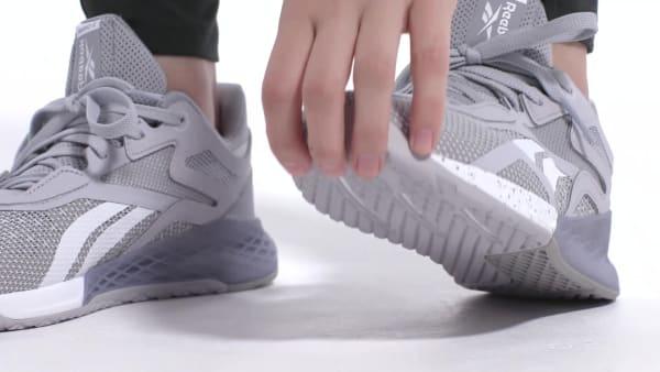 Reebok Nano X Shoes - Grey | Reebok GB