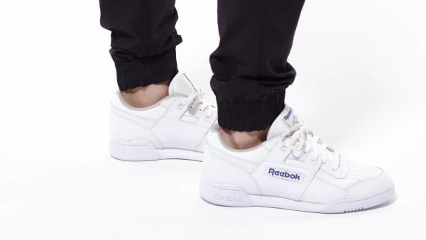Reebok Workout Plus Shoes - White