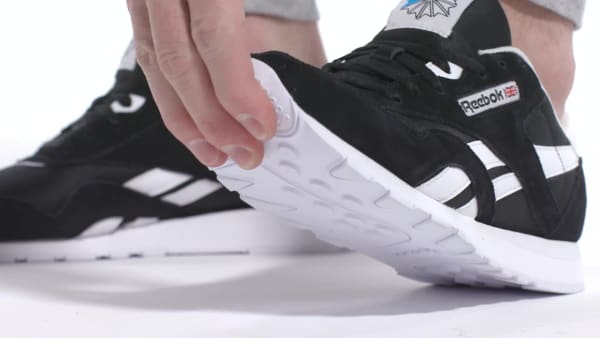 Reebok Classic Nylon Shoes - Black